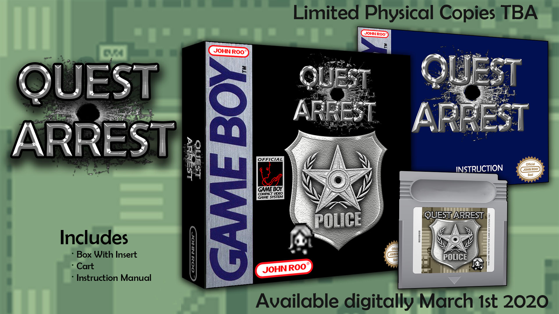 Quest Arrest por TheRetroRoomRoo