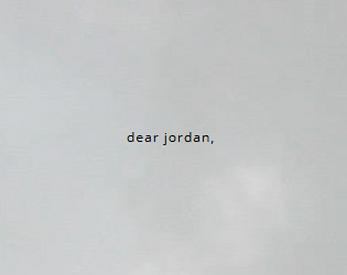 dear jordan by lysander 563c3c4759df