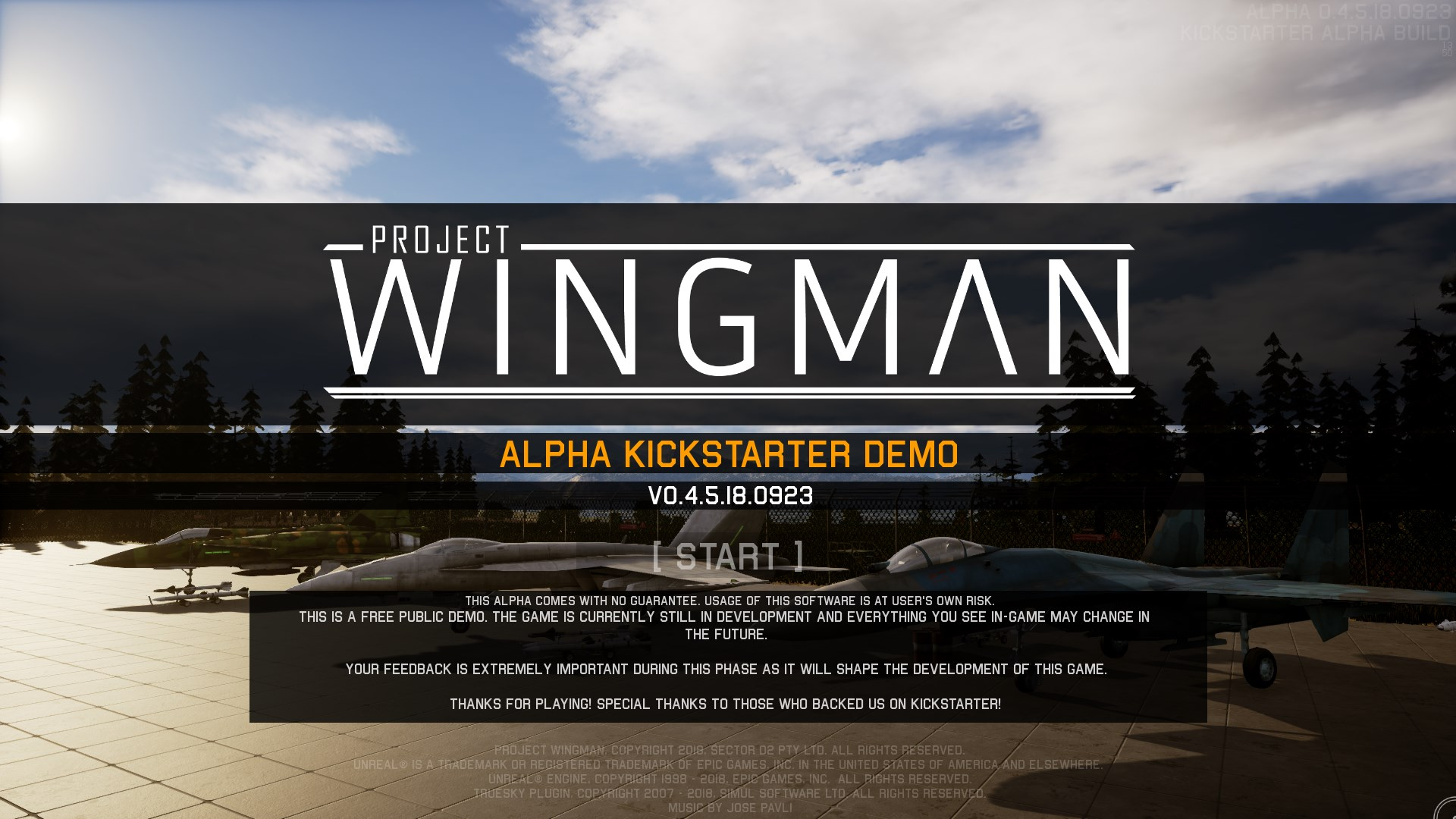 Project Wingman Alpha by RB-D2