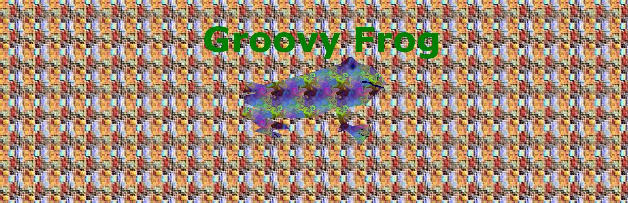 Groovy Frog