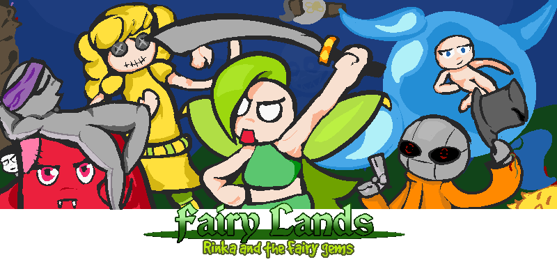 Fairy Lands: Rinka and the fairy gems.