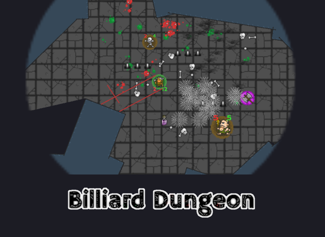 Billiard Dungeon