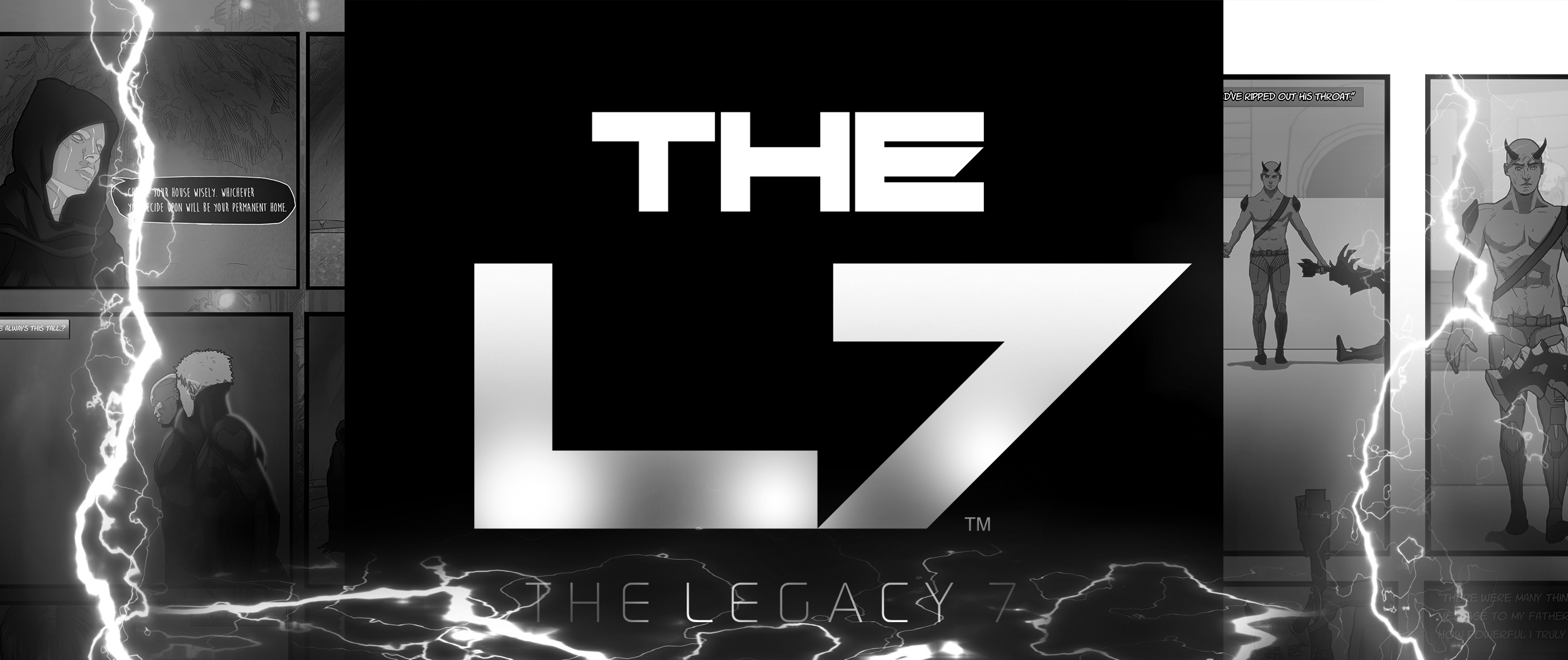 The Legacy 7 - Issue 1 'Rain'