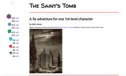 Cover of The Saint's Tomb
