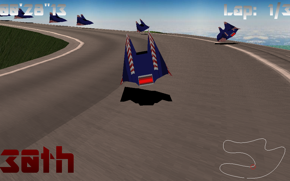 Simple Racing Engine (3D + 2D) by Yal