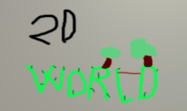 2DWorld - A physics-based sandbox