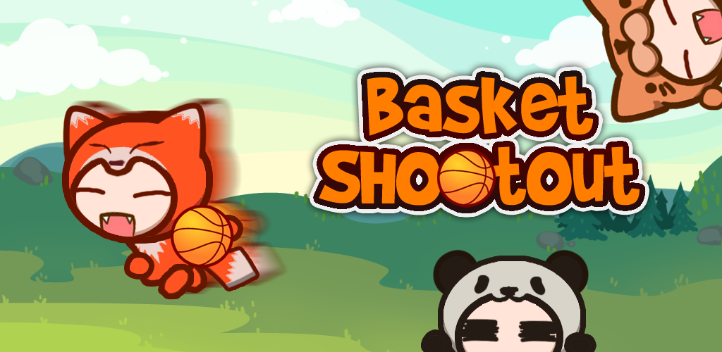 2 Players Basket Shootout