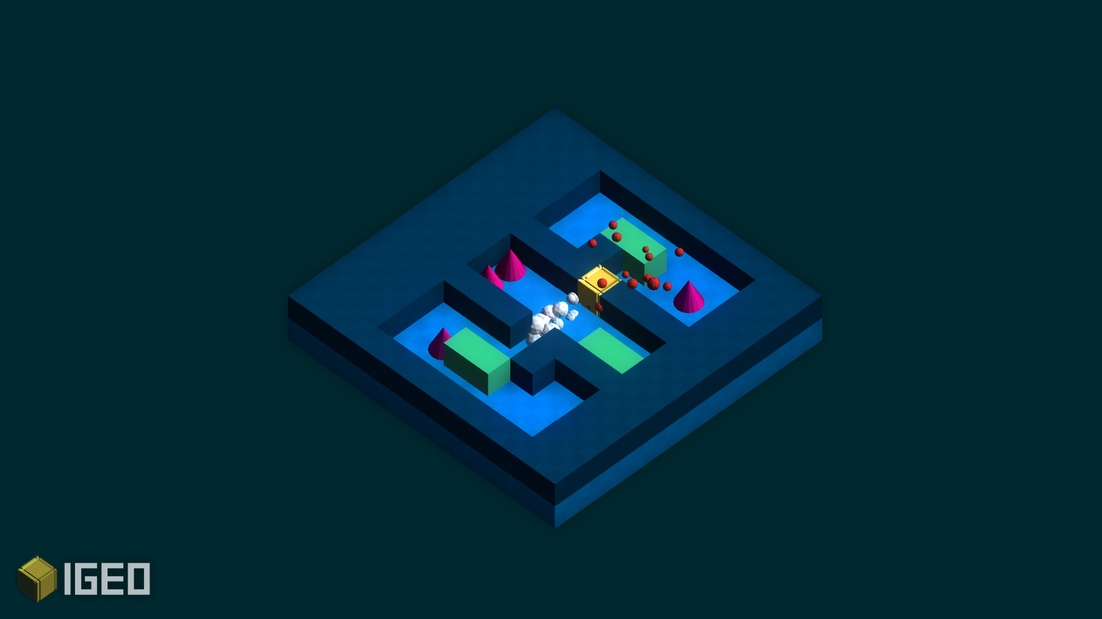 IGEO, our latest puzzle game