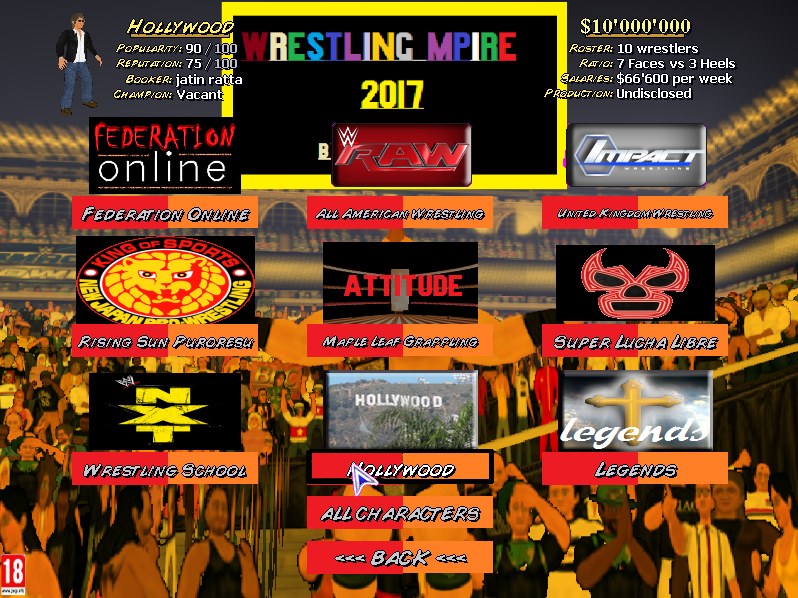 Wrestling Mpire 2017 by jatin ratta