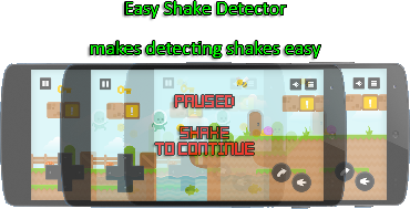 Easy Shake Detector for Unity Andriod
