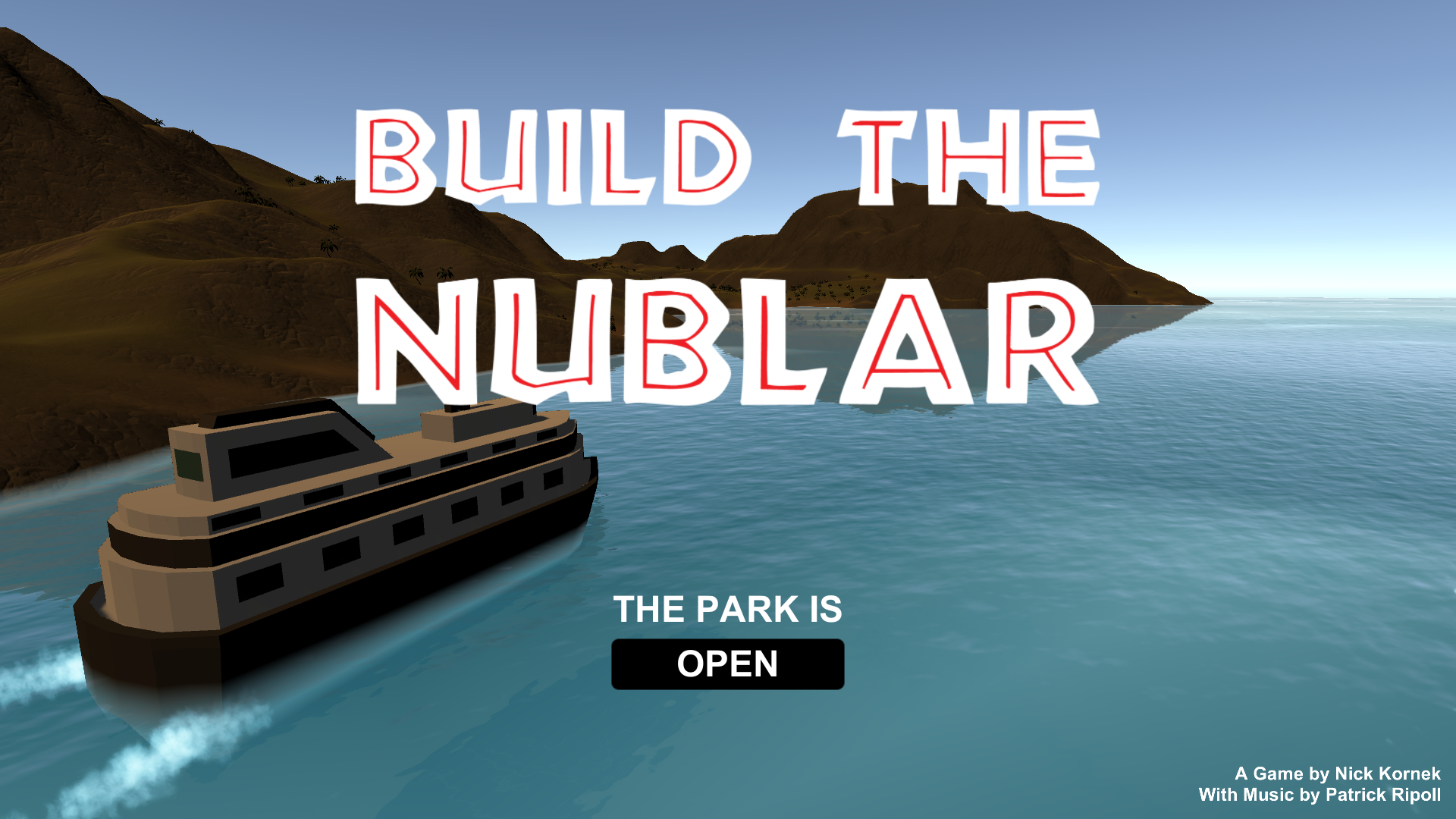 Build The Nublar By Nick Kornek For Wizard Jam Itchio - Cruise ship building games