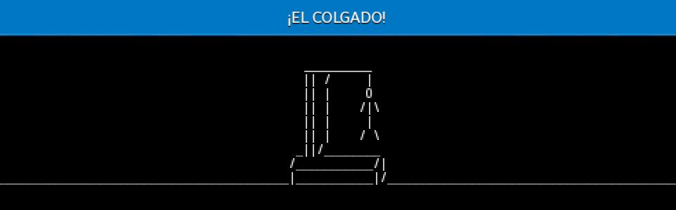 ¡EL COLGADO! 1.4