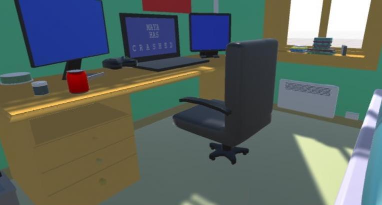 Ragequit simulator VR