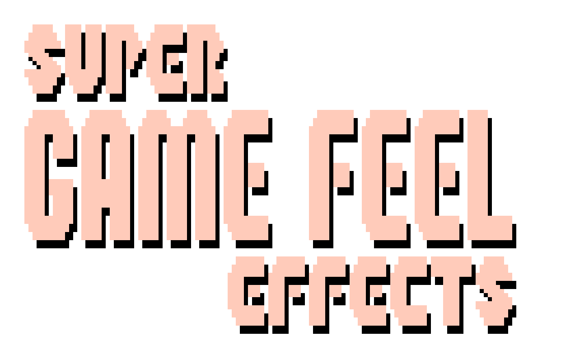 Super Game Feel Effects: Screenshake, Kickback, & Hitstop