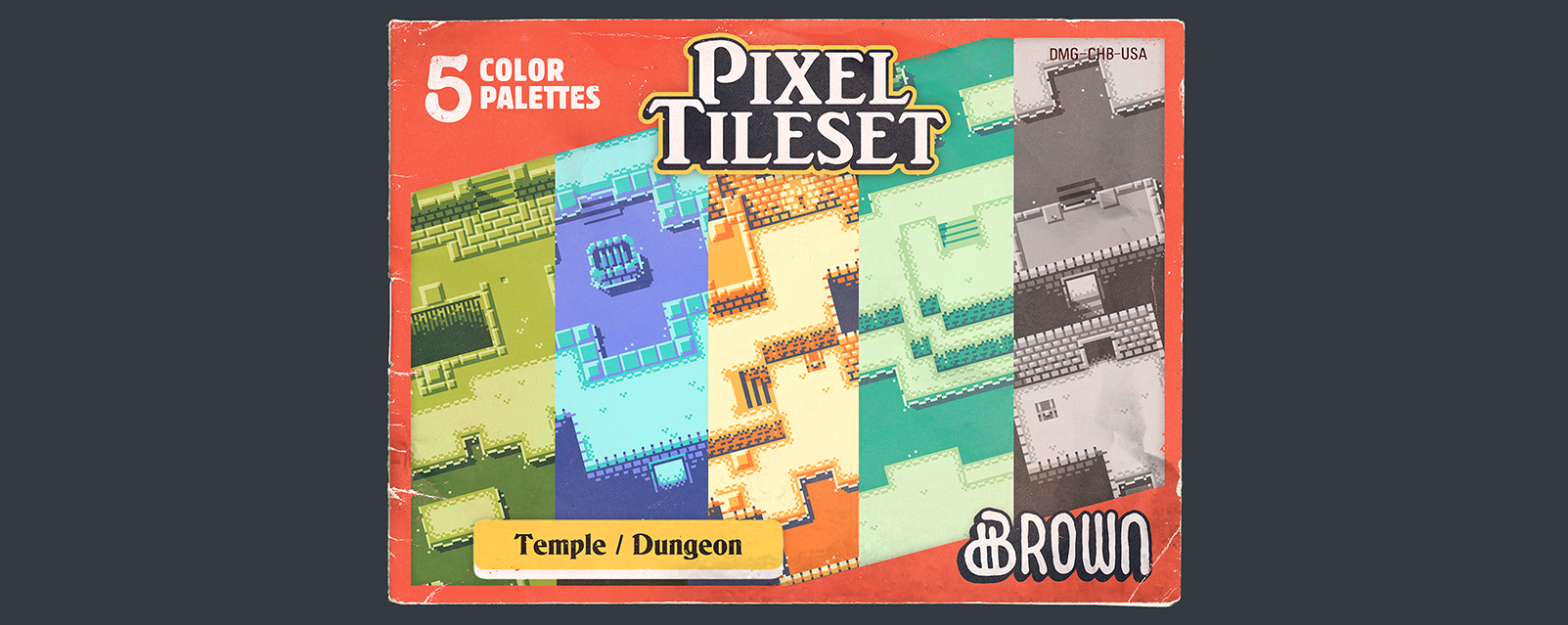 Pixel Tileset: Temple / Dungeon