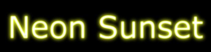 Neon Sunset Hidden Soundtrack In Constep Doodle