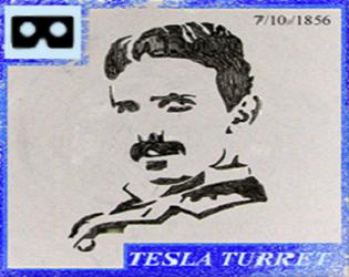 Tesla Turret  Cardboard VR (WIP)