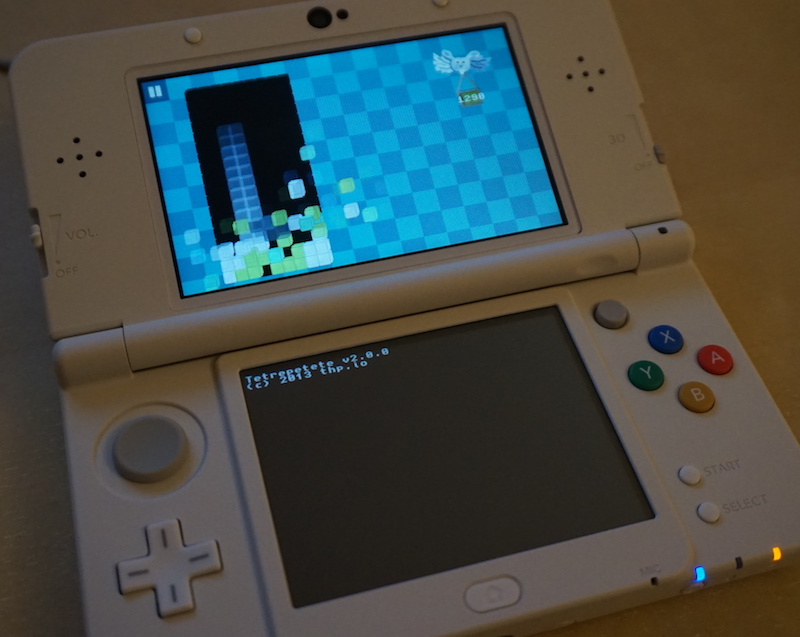 Tetrepetete 3DS by thp