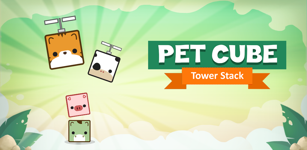 Pet Cube: Tower Stack