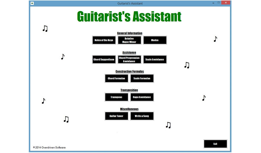 Guitarists Assistant By Overdriven Software