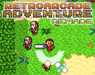 Retro Arcade Adventure Remade by Siactro