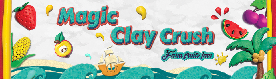 Magic Clay Crush : Fruits Jam