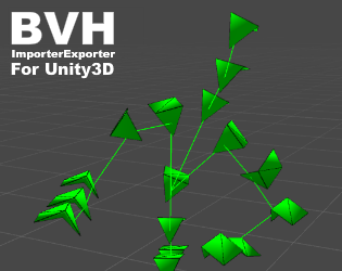 BvhImporterExporter (for Unity 3D) by Winterdust