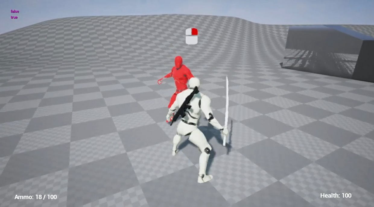Action game / Melee combat - v2  Counter-attack system  Unreal Engine 4 by  bitande