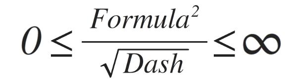 Formula Dash