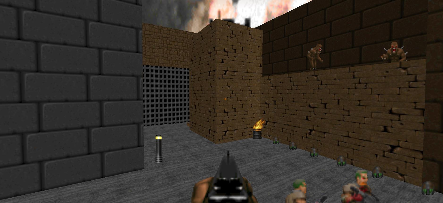 District: A Doom 2 map