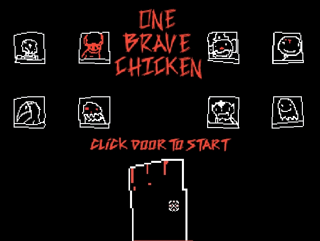 One Brave Chicken