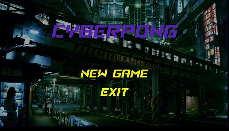 Cyberpong 2D