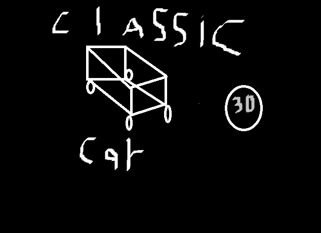 Classic Car 3D(Model) By Mirza Baig