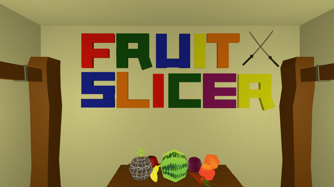 Fruit Slicer (HTC Vive)