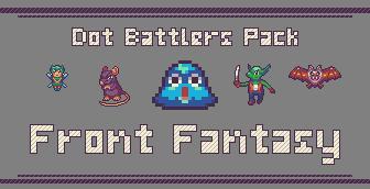 Dot Battlers Pack: Front Fantasy