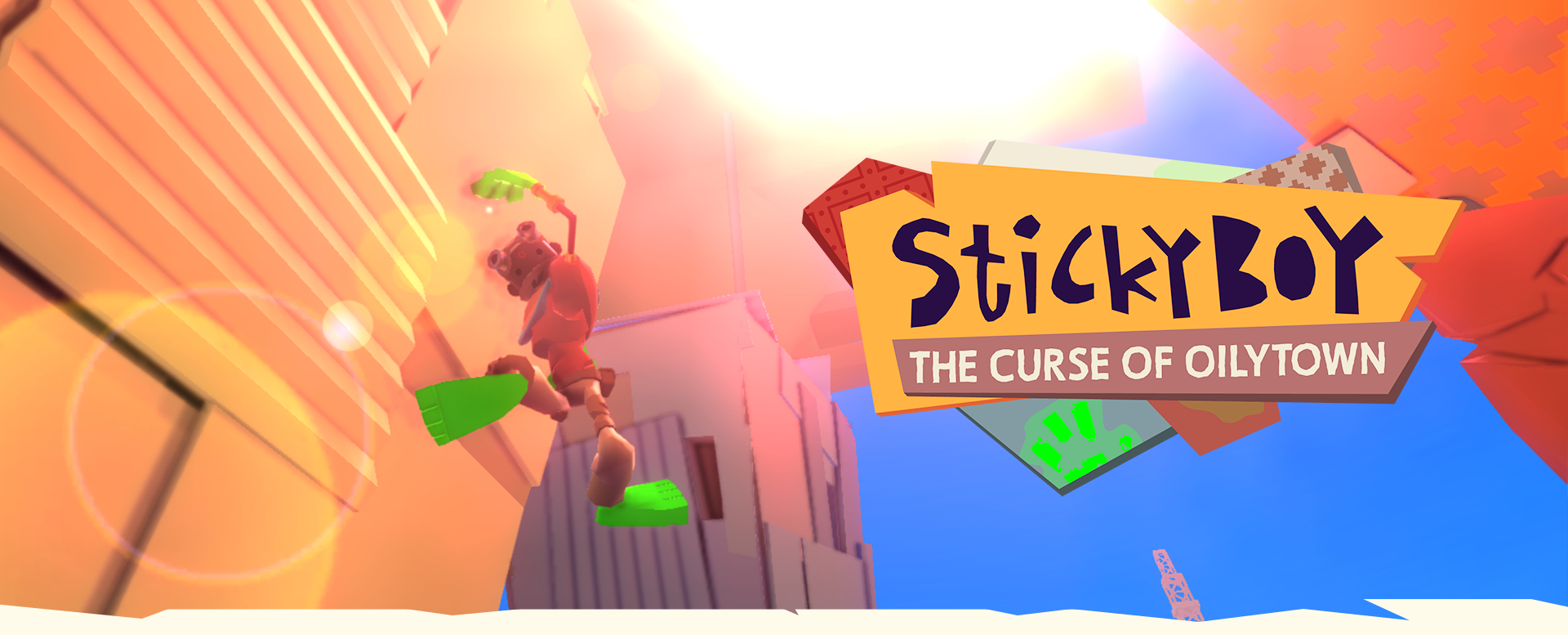 Stickyboy : the Curse of Oilytown