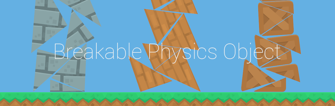 Breakable Physics Wall or Box for GameMaker: Studio