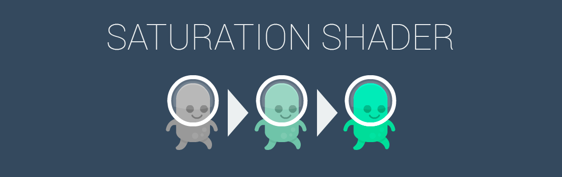 Saturation Shader for GameMaker: Studio