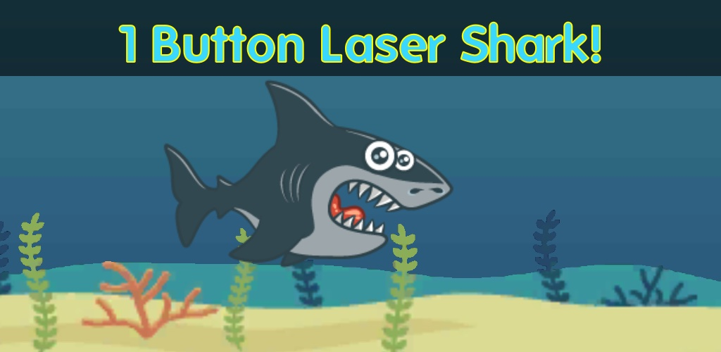 One Button Laser Shark