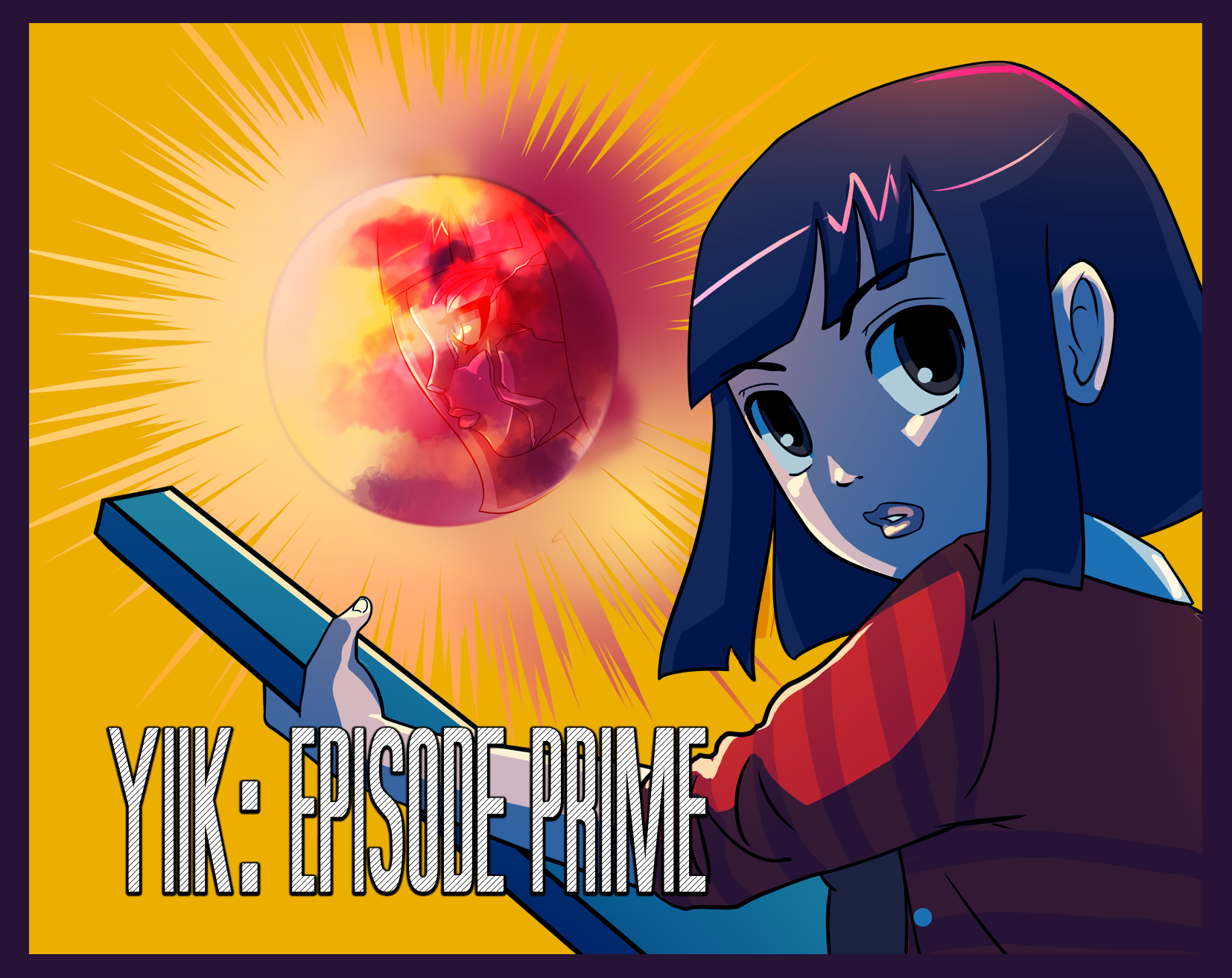 "YIIK: Episode Prime ""The MixTape Phantom and the Haunting of the Southern Cave."""