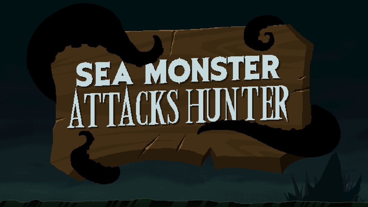Sea Monster Attacks Hunter