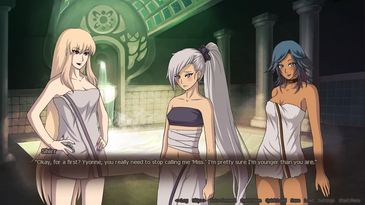 dating sims and visual novels