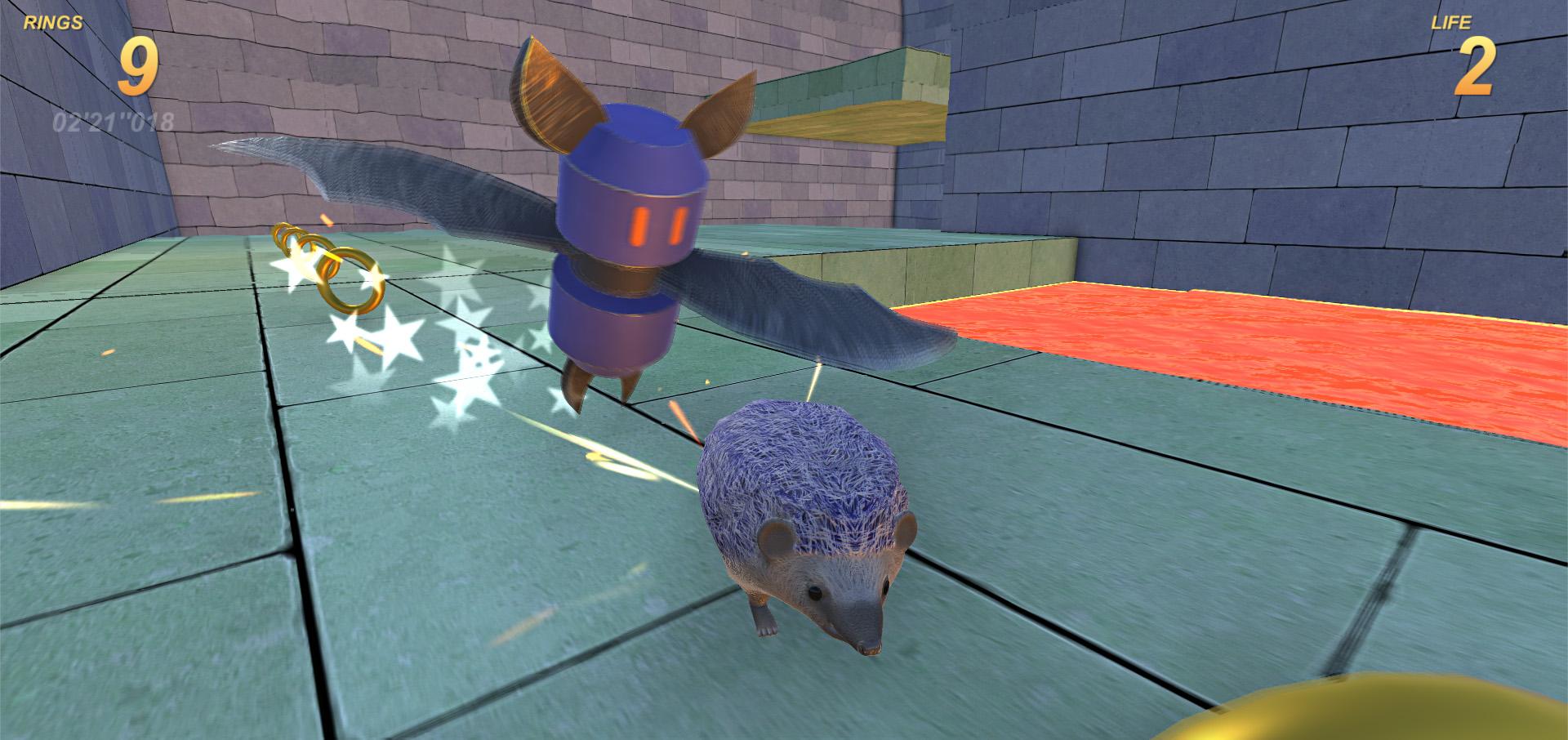 Sanix the Edgehog - Demo by VirtuaWave