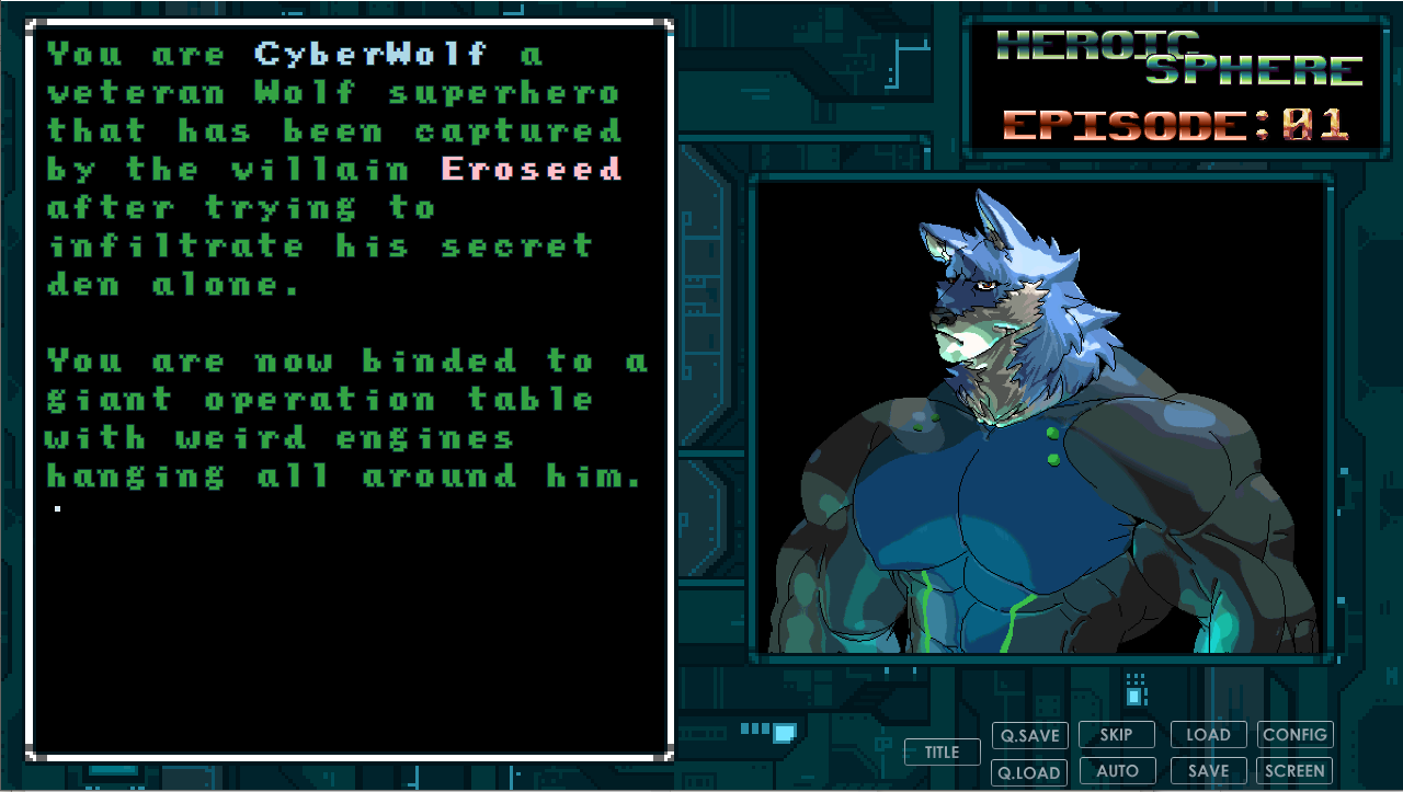 Heroic Sphere - Episode1: CyberWolf