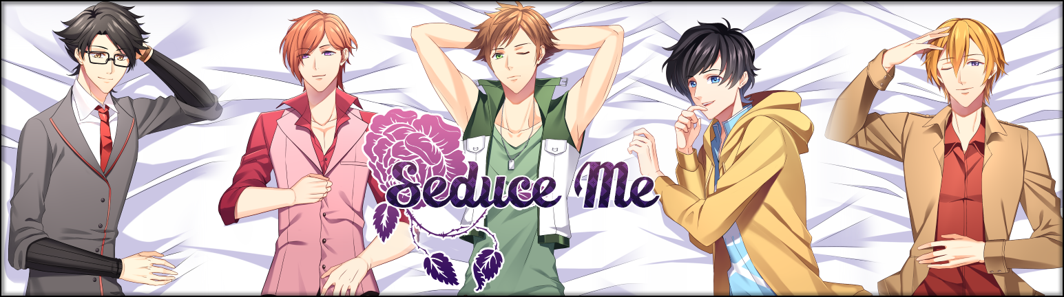 Seduce Me The Otome James Dakimakura Set