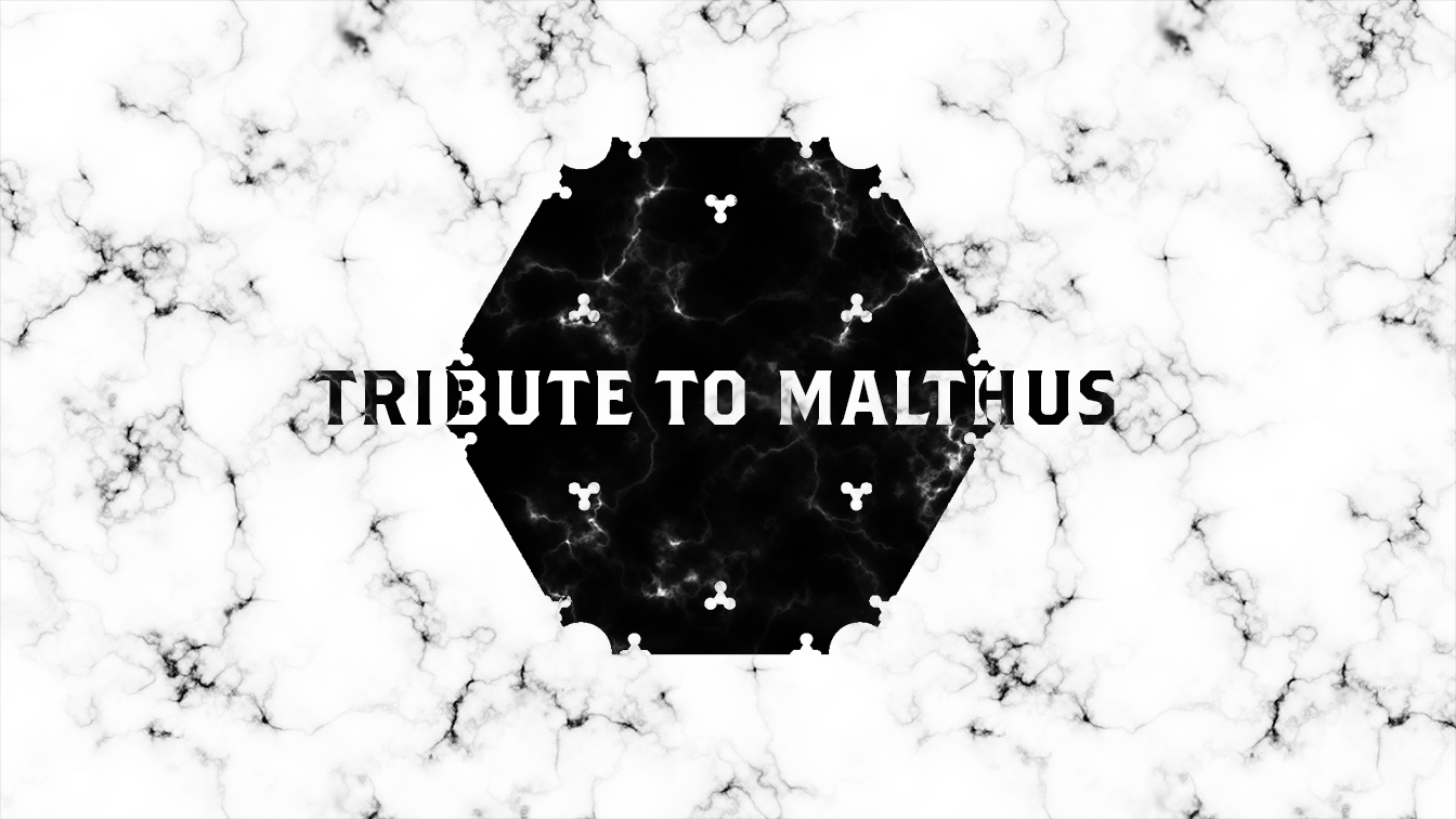 Tribute to Malthus