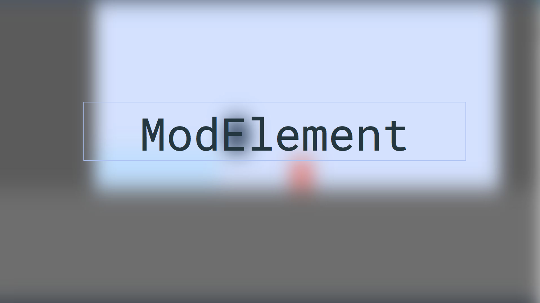 ModElement