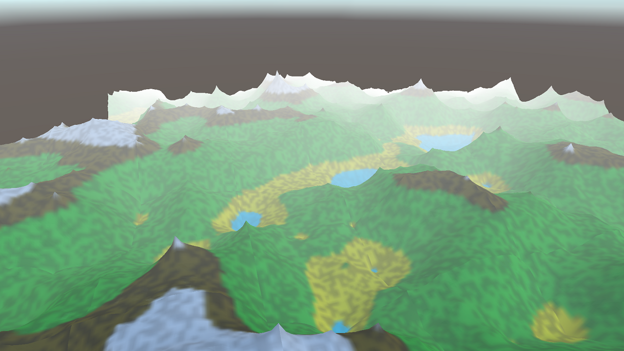 Infinite Procedurally Generated Terrain (Unity3D WebGL) by hey_m8