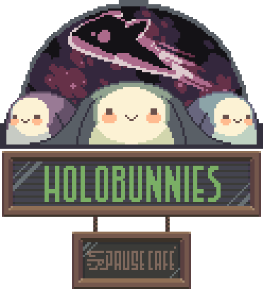 Holobunnies: Pause Cafe