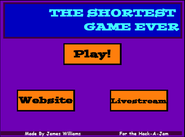 Shortest Game Ever!